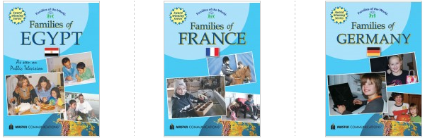 families of the world DVDs films Egypt France Germany culture
