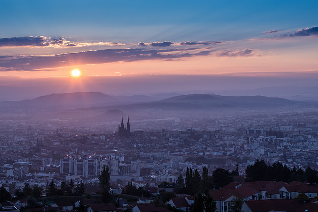 Clermont-Ferrand, the industrial city in France where the Ramseys lived ( photo credit )