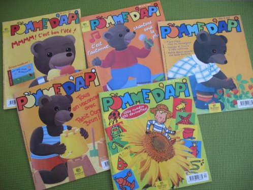 Pomme D'Api magazines for ages 3-7 currentlylisted  by  Marygoldbooks  on eBay