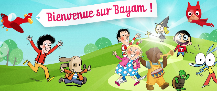 Bayam French online game children educational banner