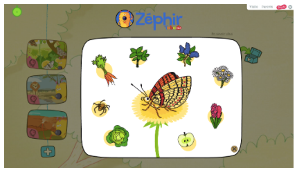 Learning about a butterfly's diet on Bayam