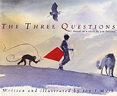 The three questions Jon J Muth cover image
