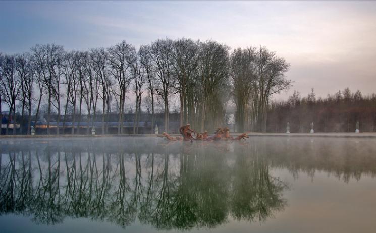 Versailles in Winter by  Hugues Nouvel de la Fleche