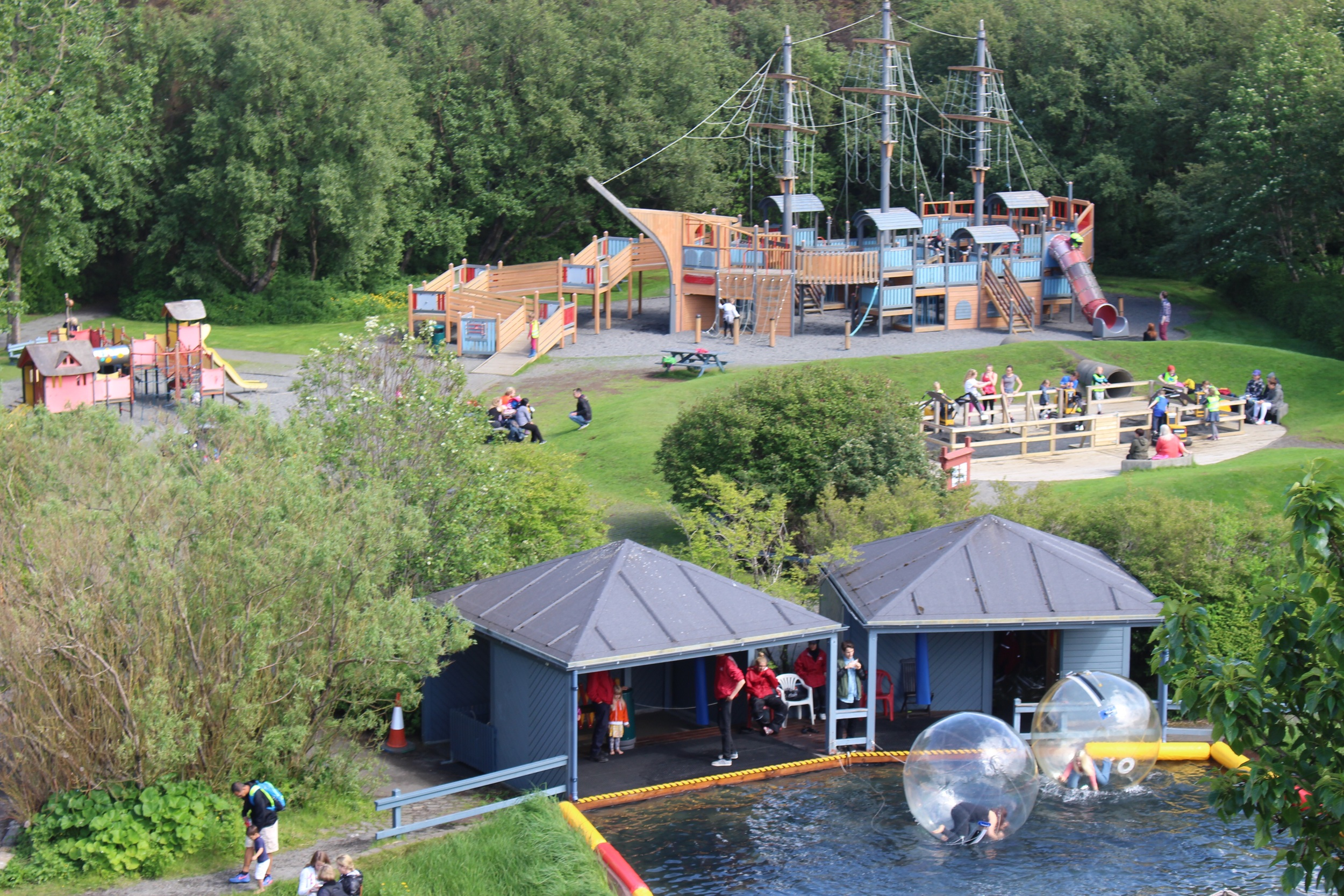The playful paradise for children of all ages at Laugardalur in Reykjavic