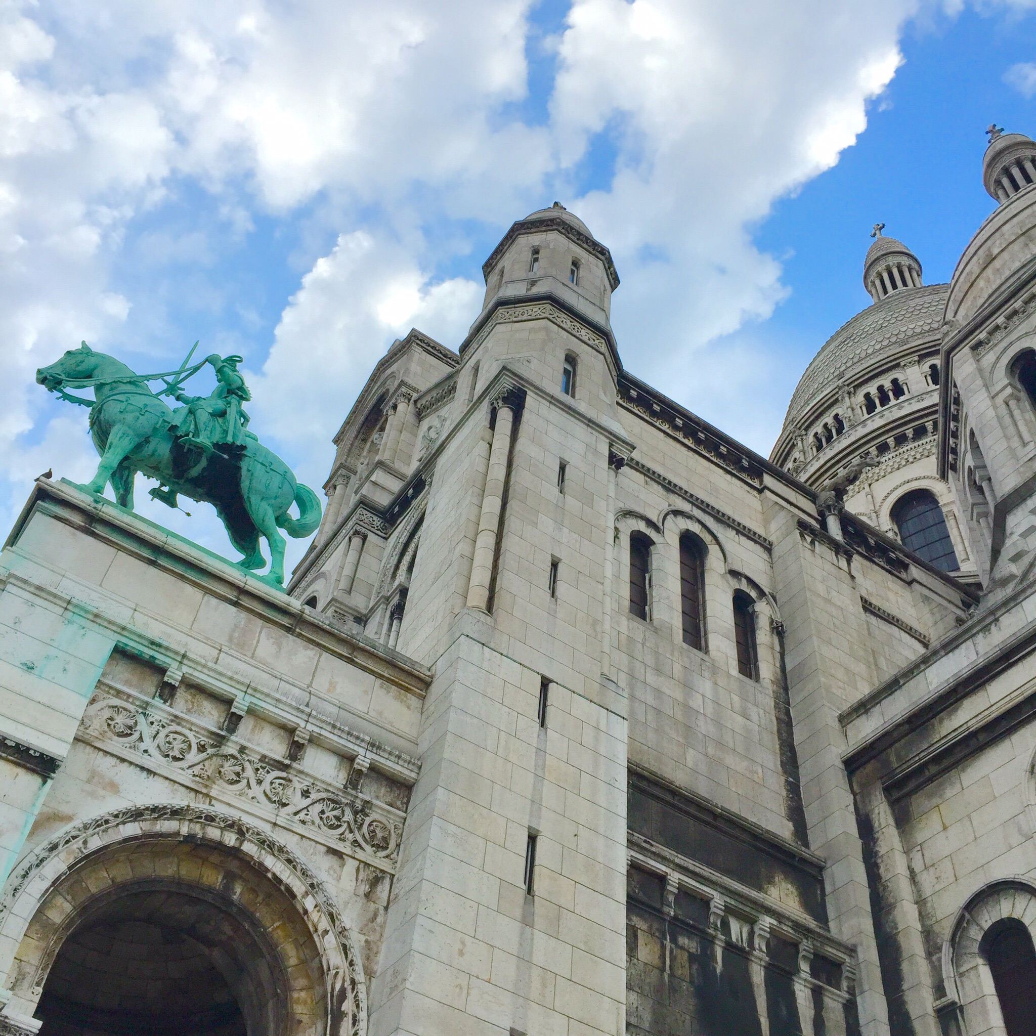 Sacre Coeur basilica on Montmartre