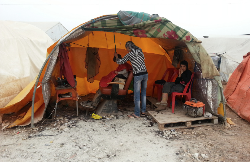 Babusselam Syrian Refugee Camp by IHH