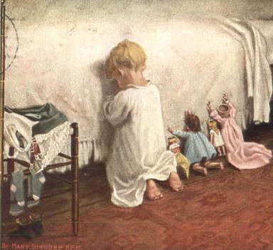 Hear my Dollies' Prayer by Mary Sigsbee Ker, 1908