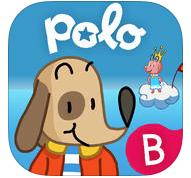 Polo's world le monde de Polo French adventure game app ages 4-7 Bayard