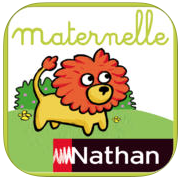 Nathan Maternelle preschool French child reading writing math app games