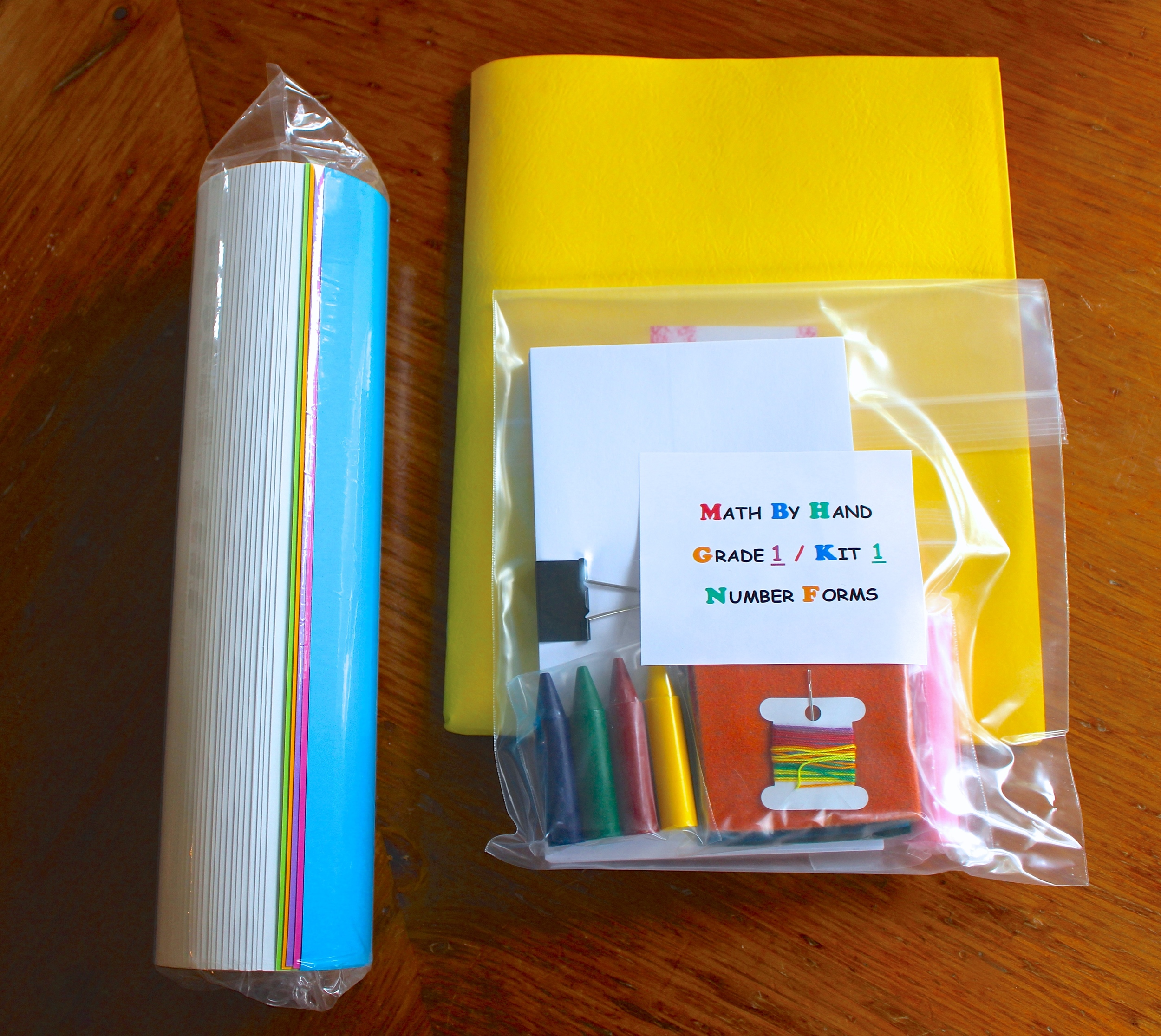 Math By Hand Waldorf Math Curriculum Kit 1 Grade Review Contents