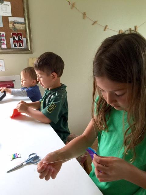 Waldorf Math sewing beanbags children