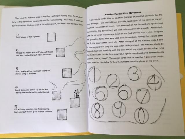 Math by hand waldorf teaching guide first grade math