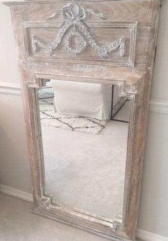 french mirror whitewash