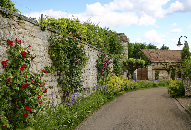 Giverny village by  JR P