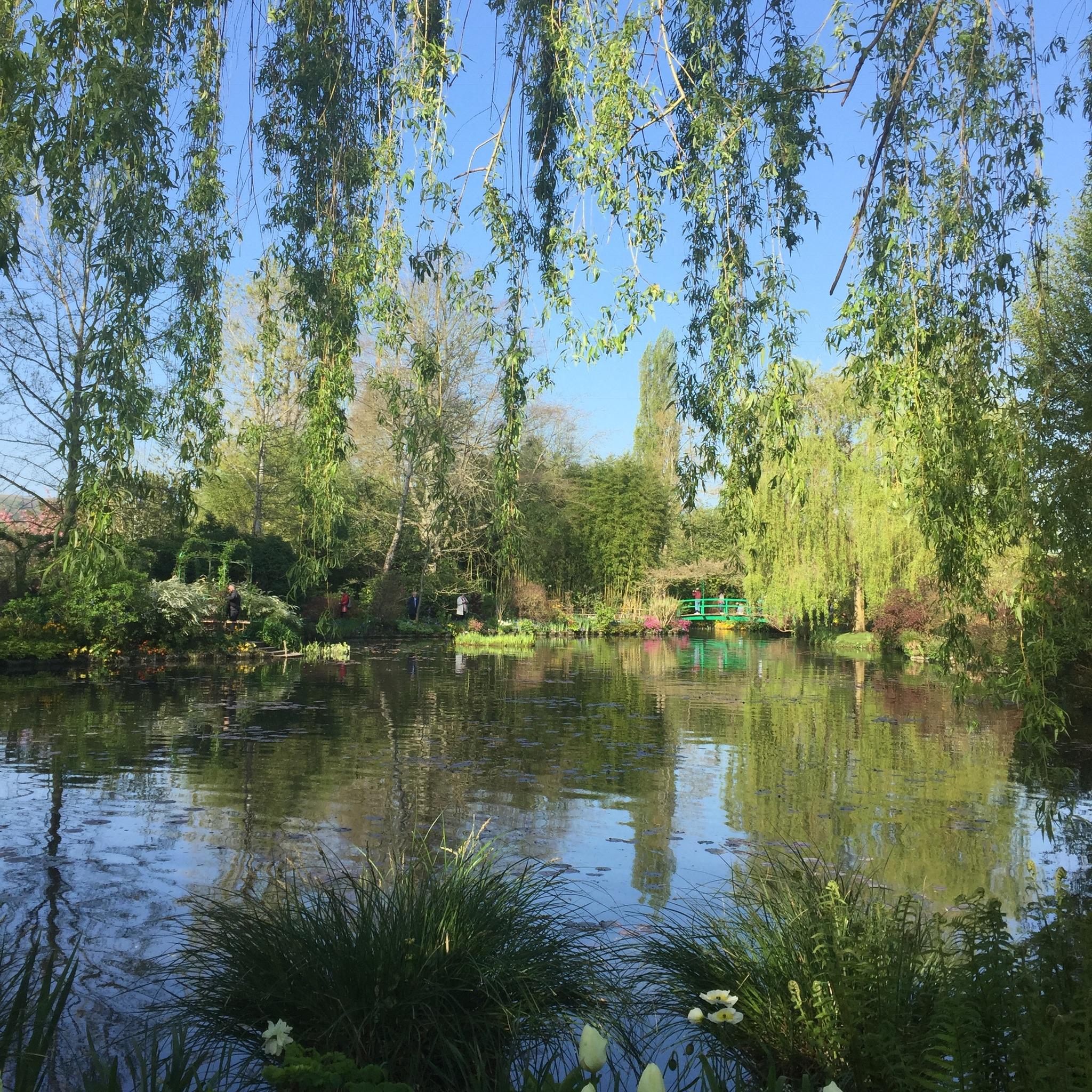 Giverny pond