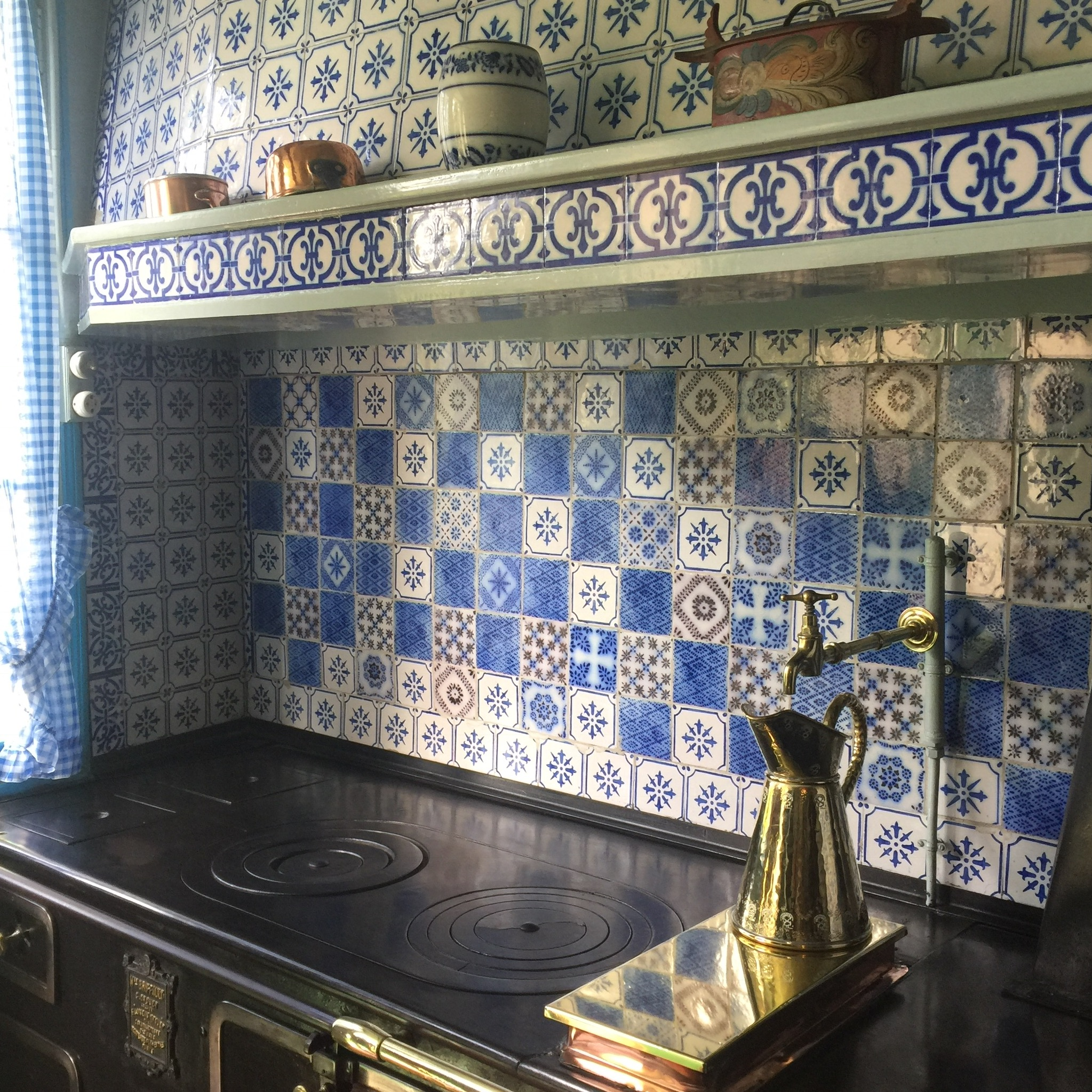 The kitchen of Monet's family home