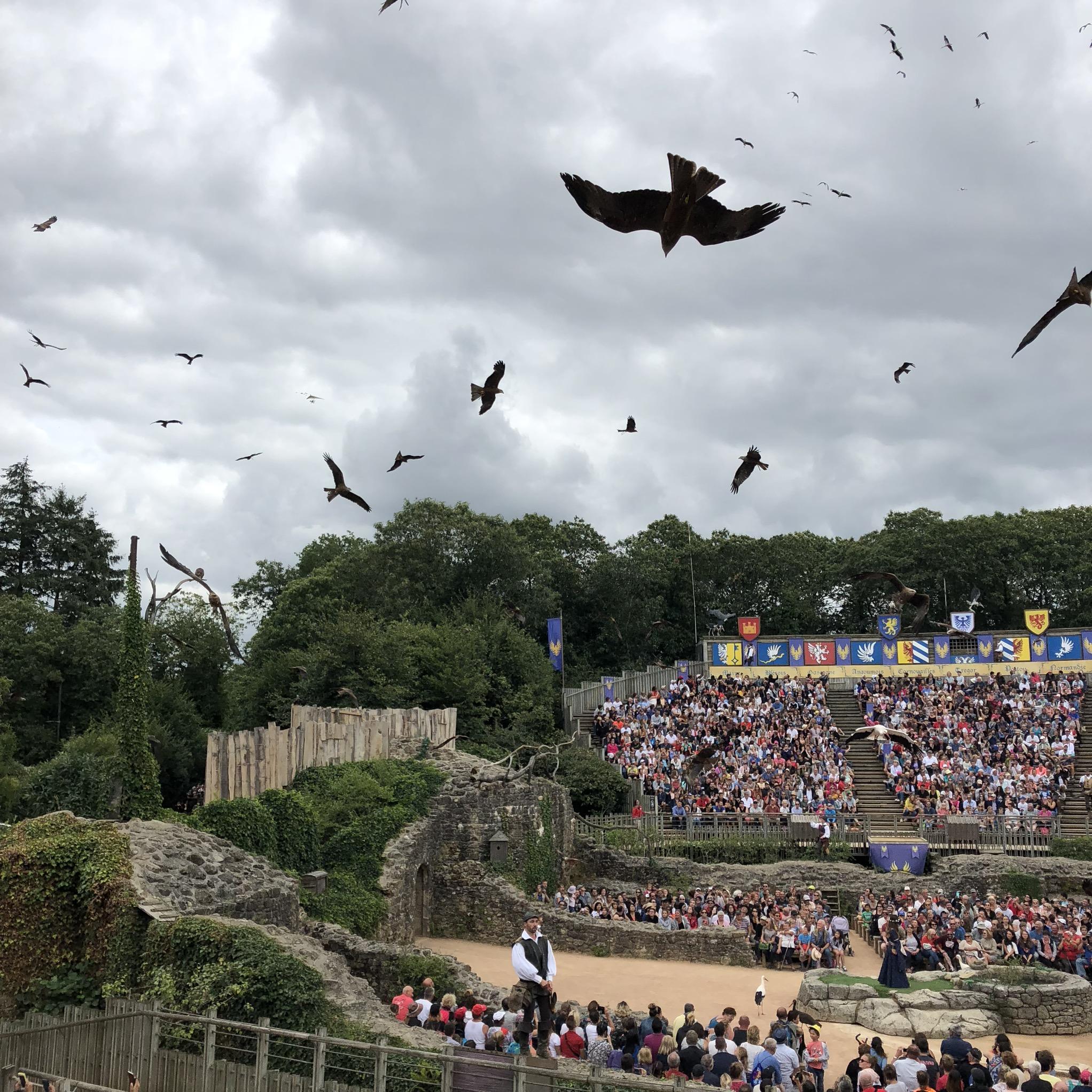 Le Bal des Oiseaux Fantômes at Puy du Fou
