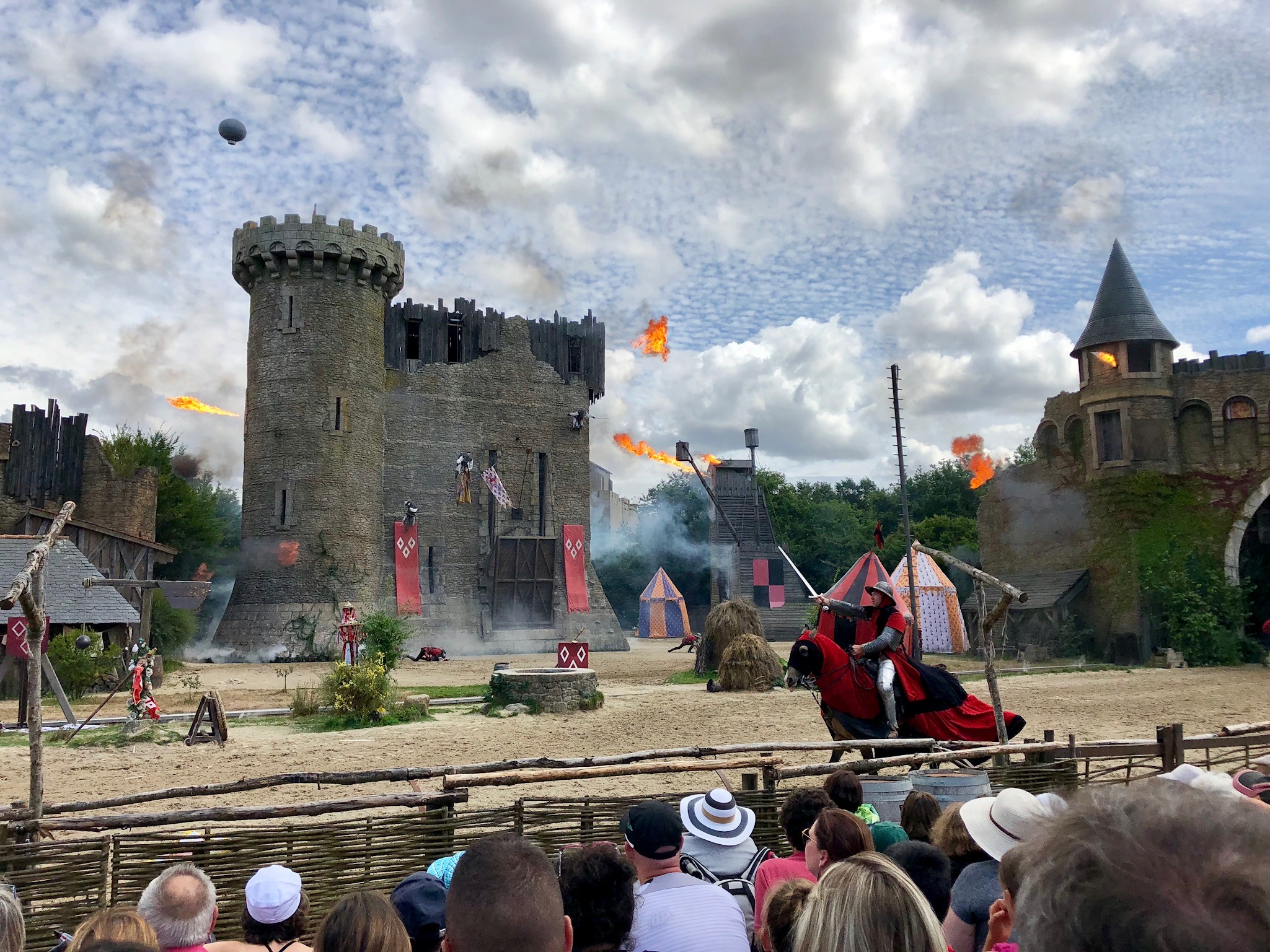 Scene from Secret of the Lance, Puy du Fou, France