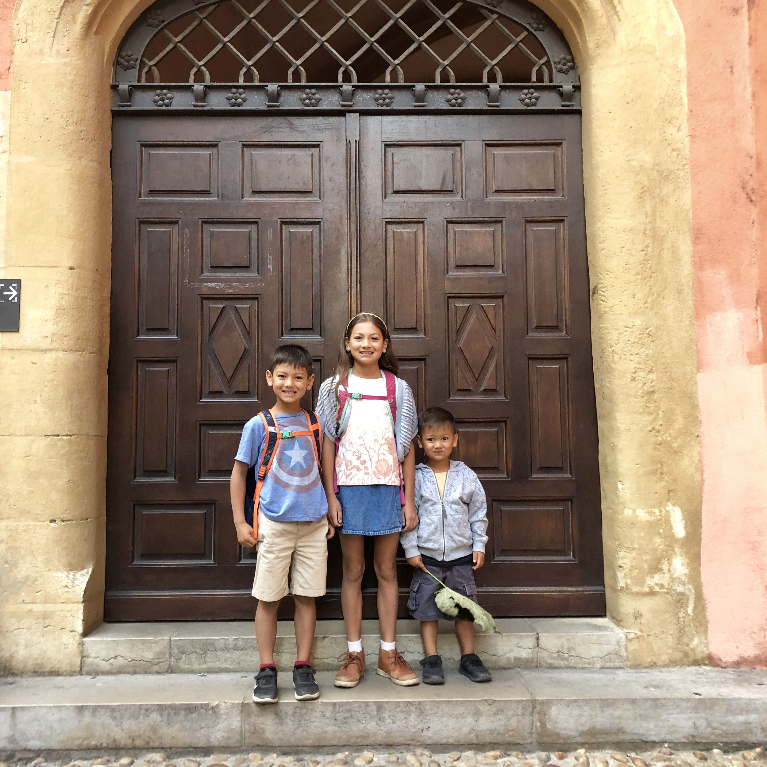 First day of school, September 2018
