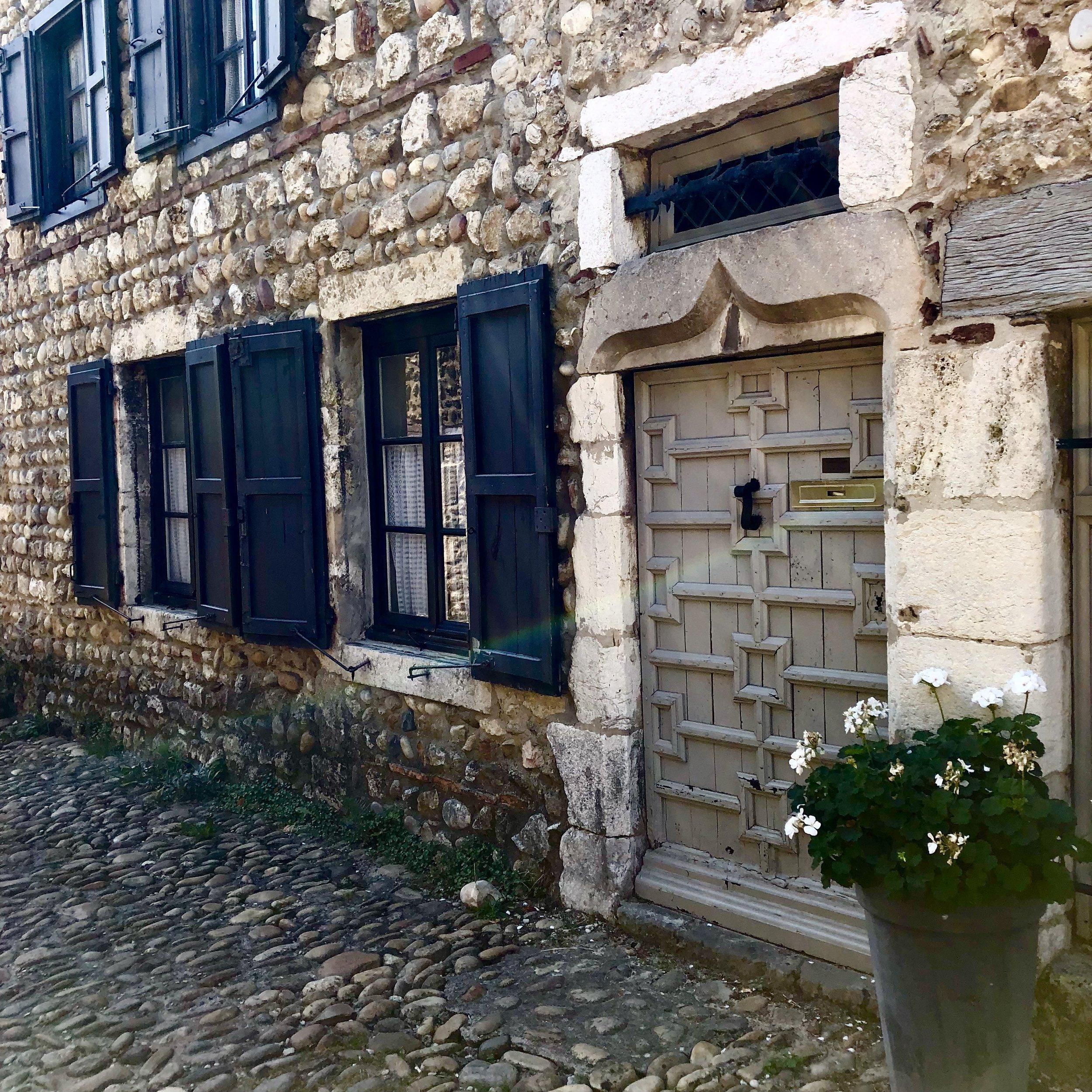 A home in Pérouges, France