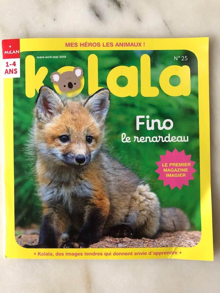 Kolala french preschool animal magazine fox cub cute review subscription.jpg