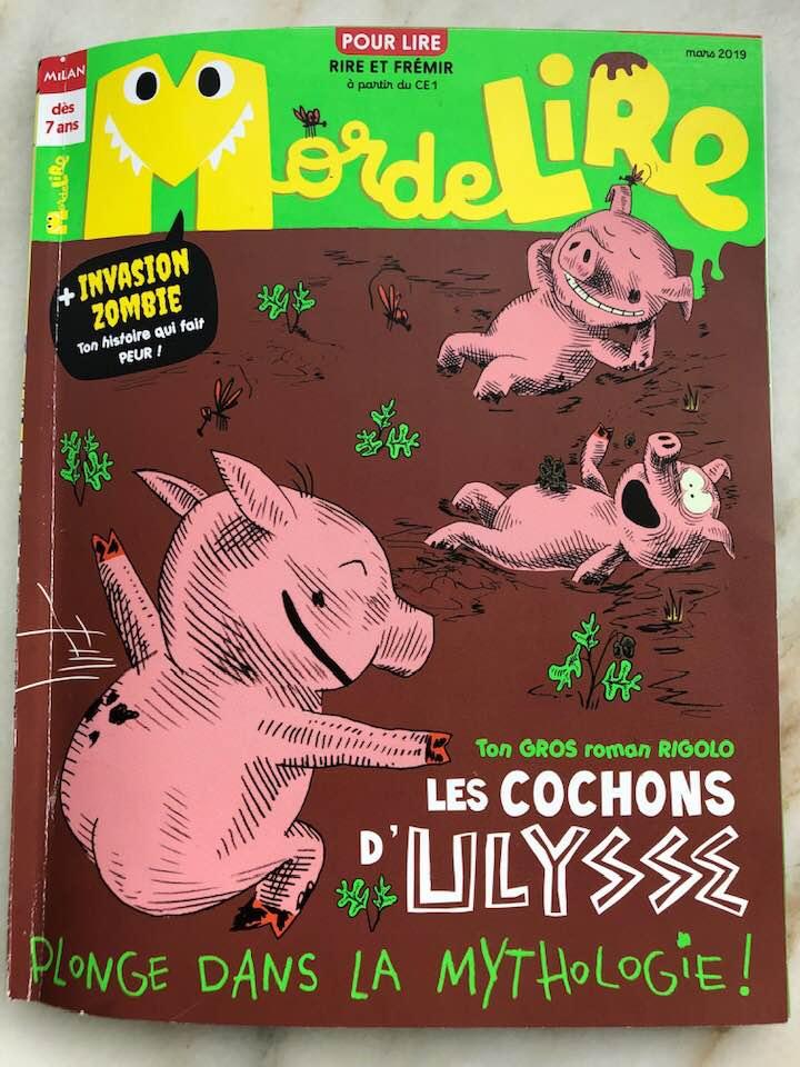 French childrens reading magazine humor funny stories .jpg