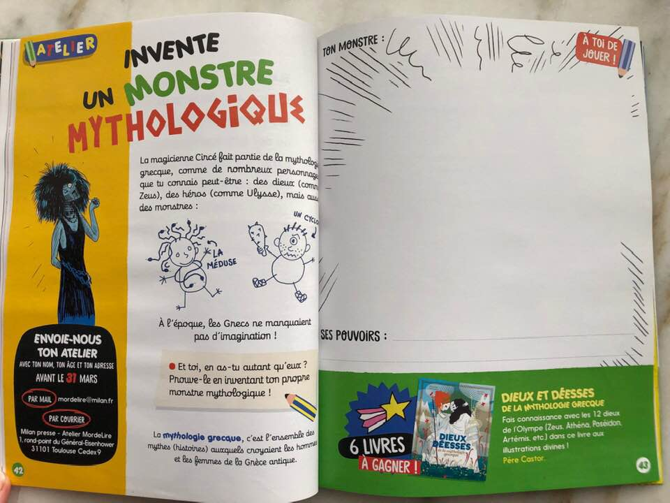 French children's magazine drawing activity subscription suggestion.jpg