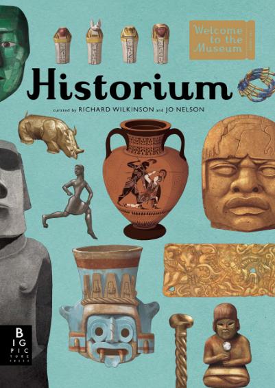 Historium children art history archeology book images