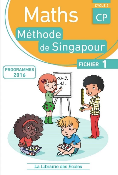 Singapore math in French workbook children online.png