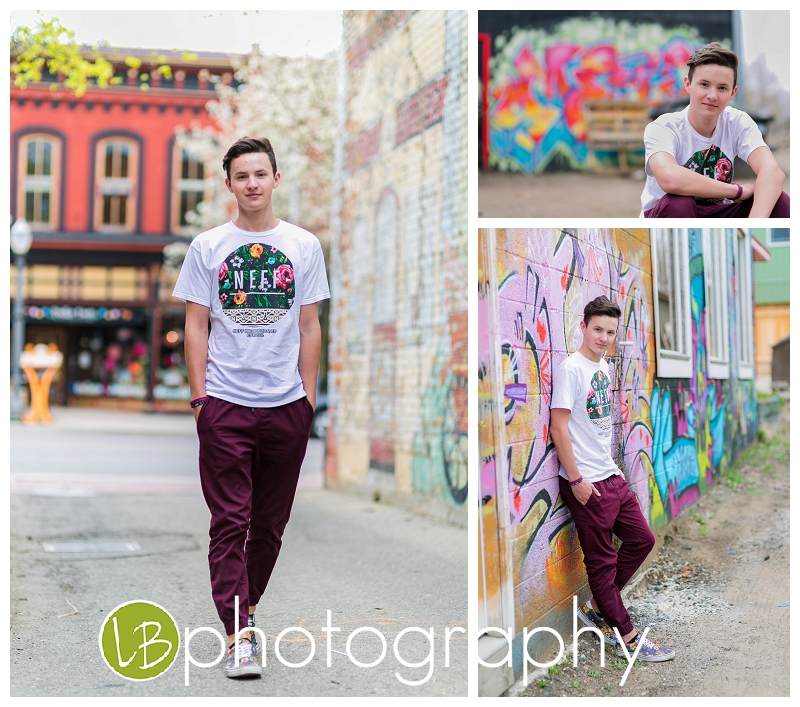 His Style + the awesome buildings of Lansing = superb images !!
