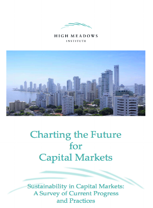Title:  Charting the Future for Capital Markets: Sustainability in Capital markets, a survey of current progress  Authors:  Sakis Kotsantonis, George Serafeim, Chris Pinney  Date:  January 2016