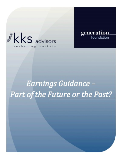 Title:  Earnings Guidance  Authors:  Gabriel Karageorgiou and George Serafeim  Date:  January 2014