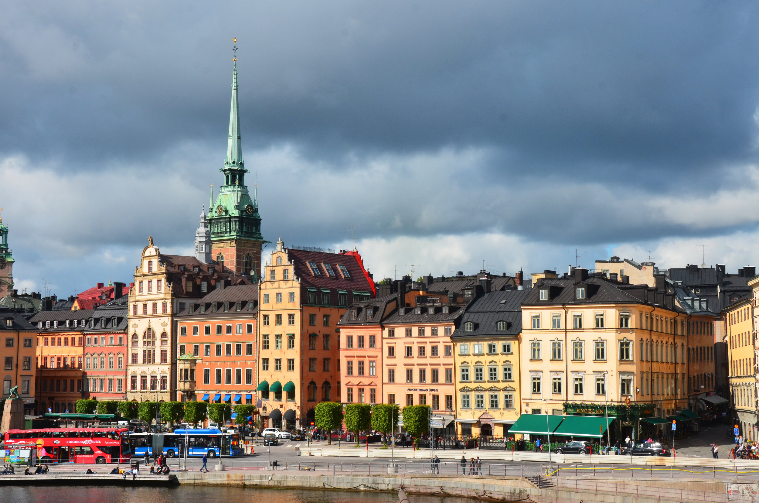 Cities like Stockholm, Sweden plan to go fossil fuel-free by 2040. Photo by Anneli Tostar.