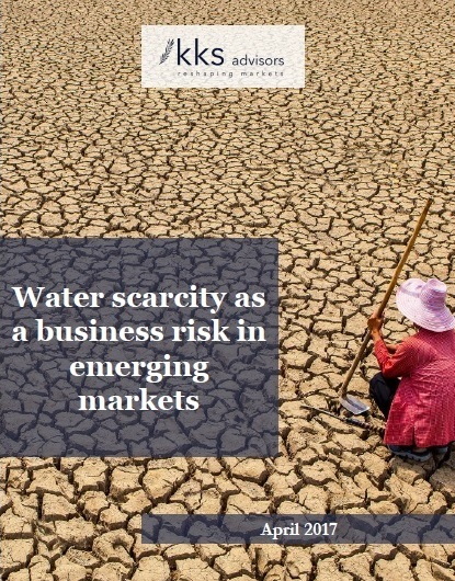 Title:  Water Scarcity as a Business Risk in Global Emerging Markets  Authors:  Thomas Cobti, Sakis Kotsantonis, Dylan Rees-Williams  Date:  April 2017