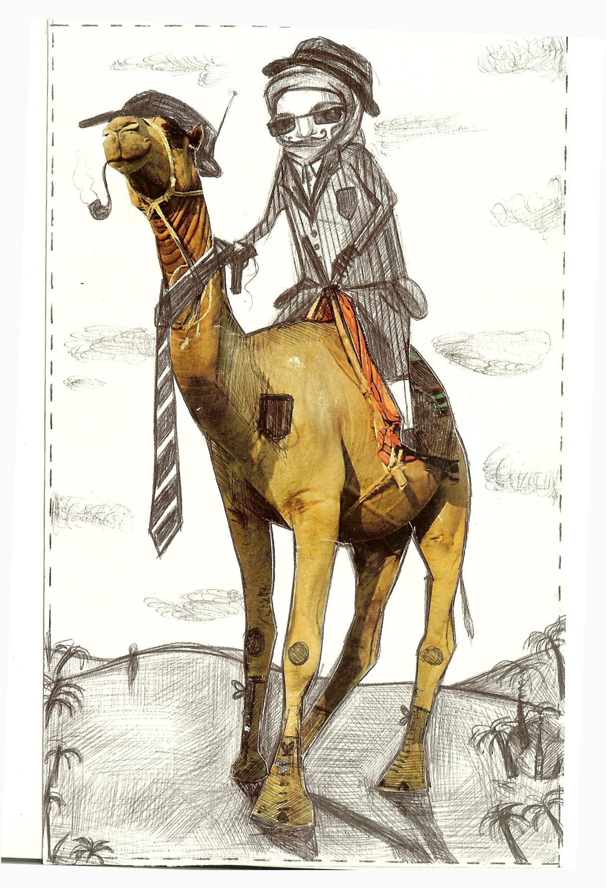 Gangster a cammello