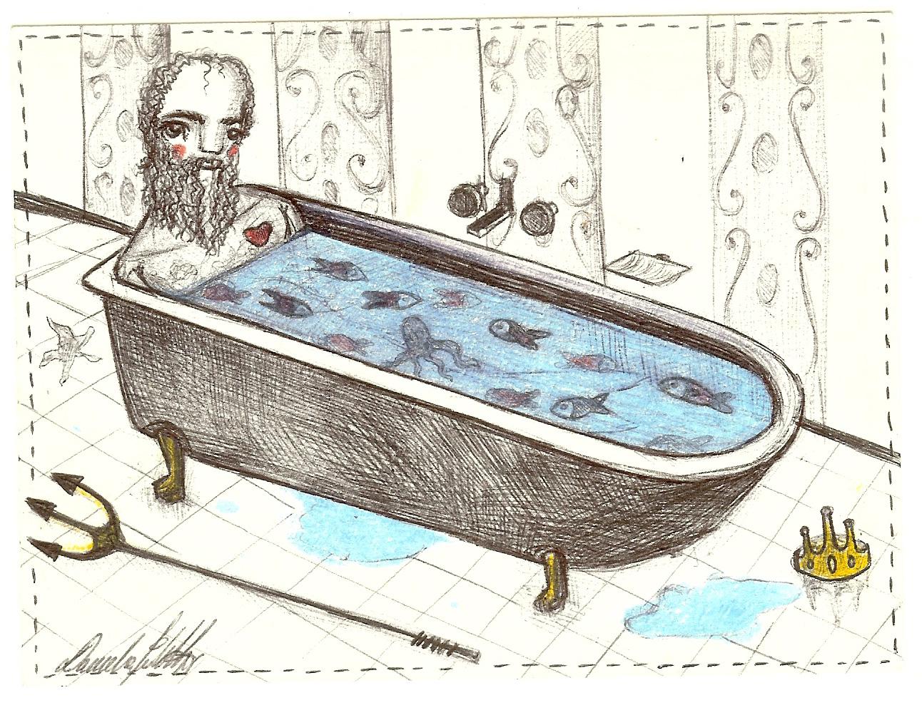Nettuno in vasca