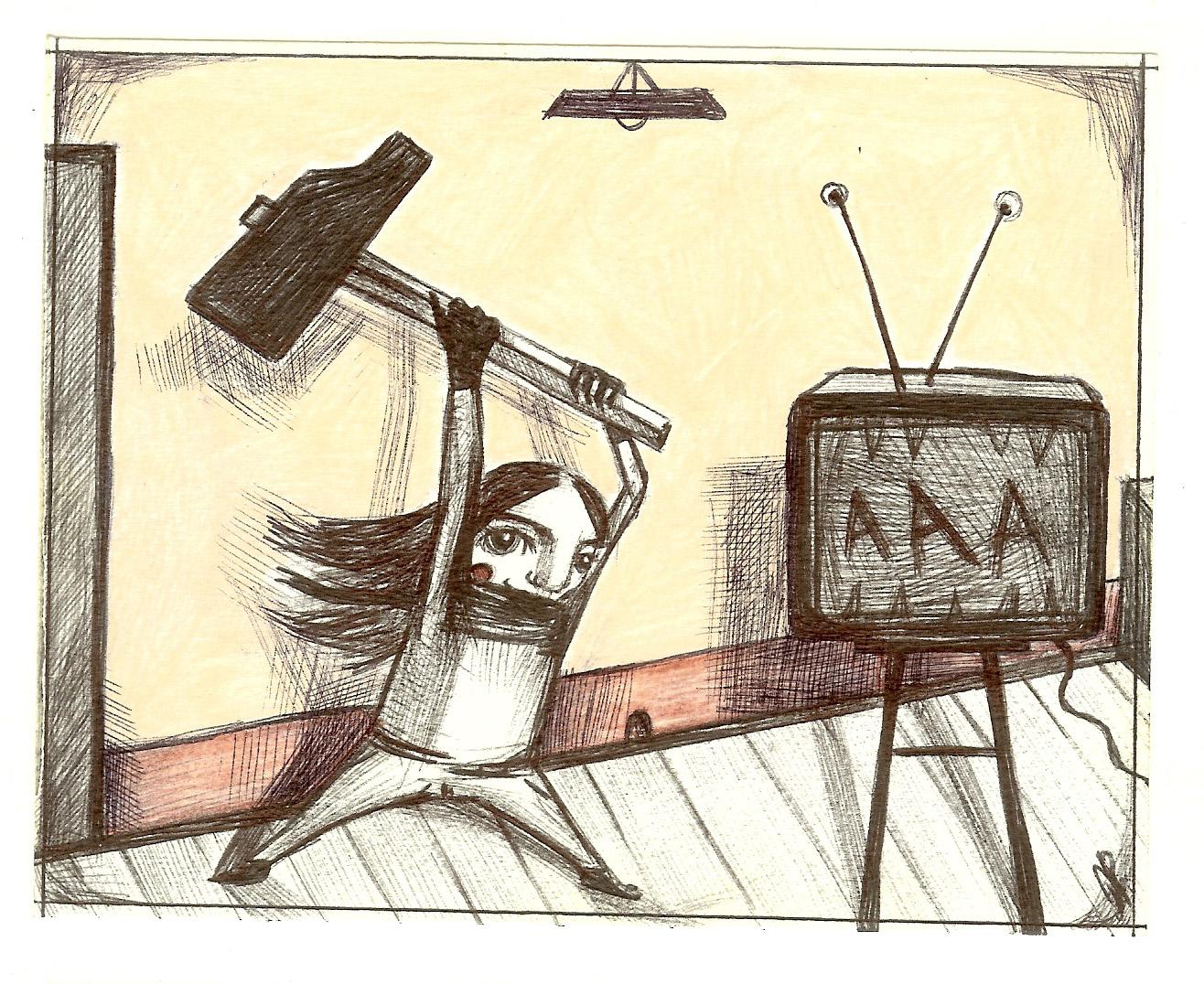 Spacca la TV