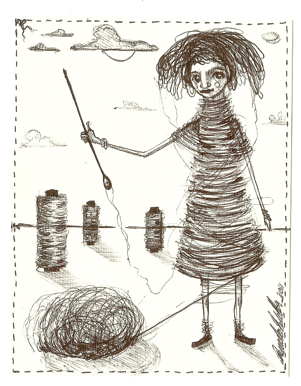 Vestito di fili