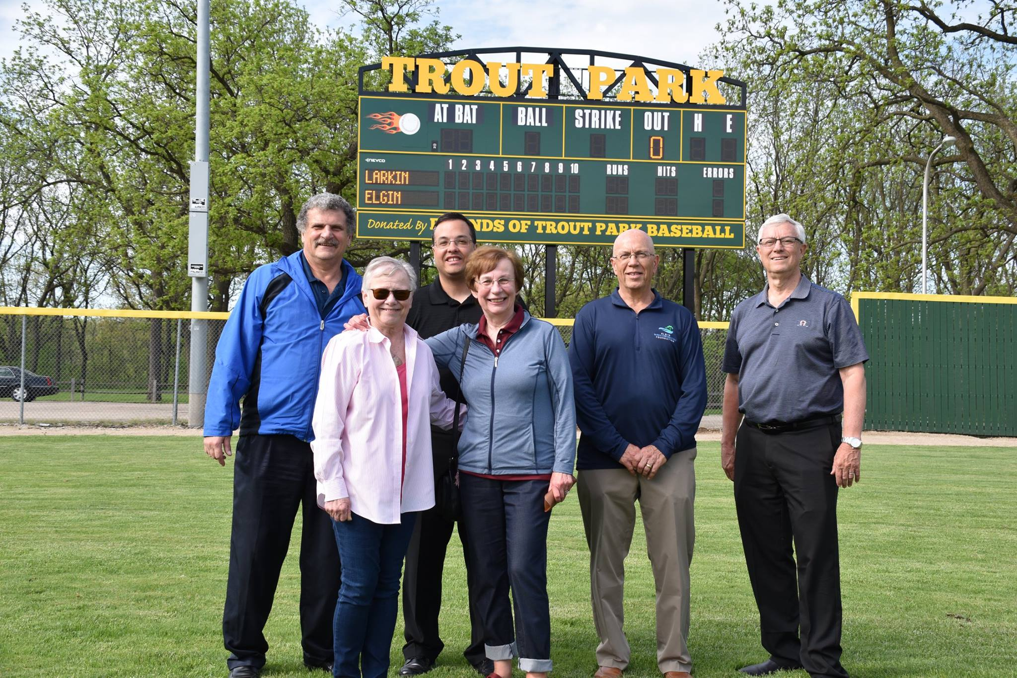 scoreboard and donation team.jpg