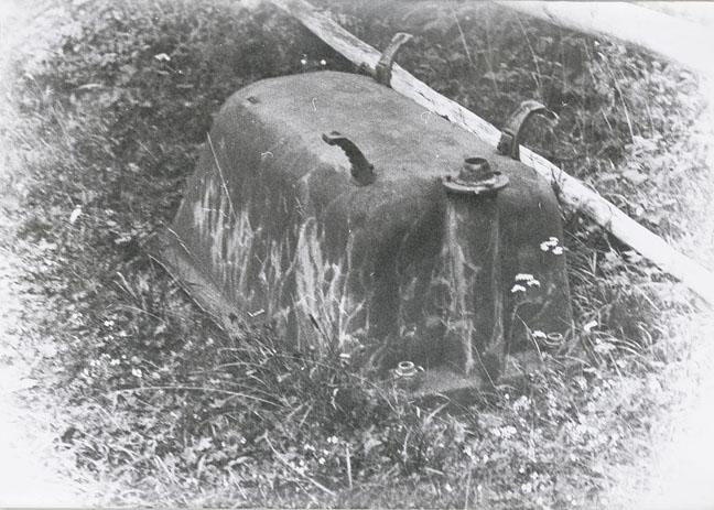 Sigmar Polke, Badewanne (Willich), 1972, Photograph, 8.3 x 11.7 in, 21.1 x 29.7 cm