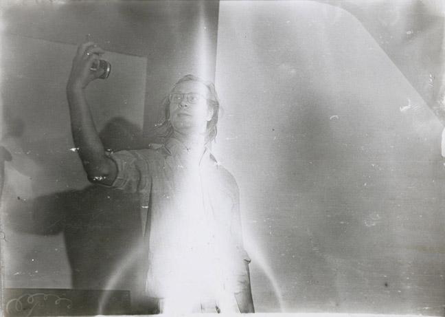 Sigmar Polke, Untitled (Self Portrait), 1969-1970, Photograph, 5 x 7 in, 12.7 x 17.8 cm