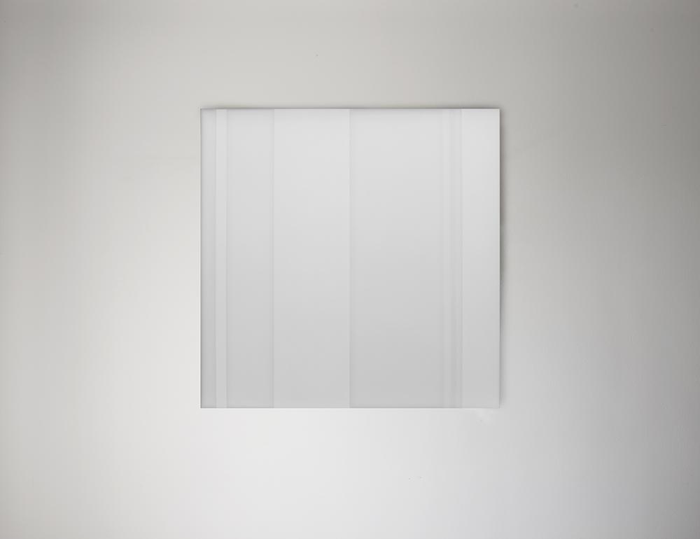 Steve Burtch No. 12022, 2012, acrylic & graphite on cast acrylic panels, 11 x 11 inches