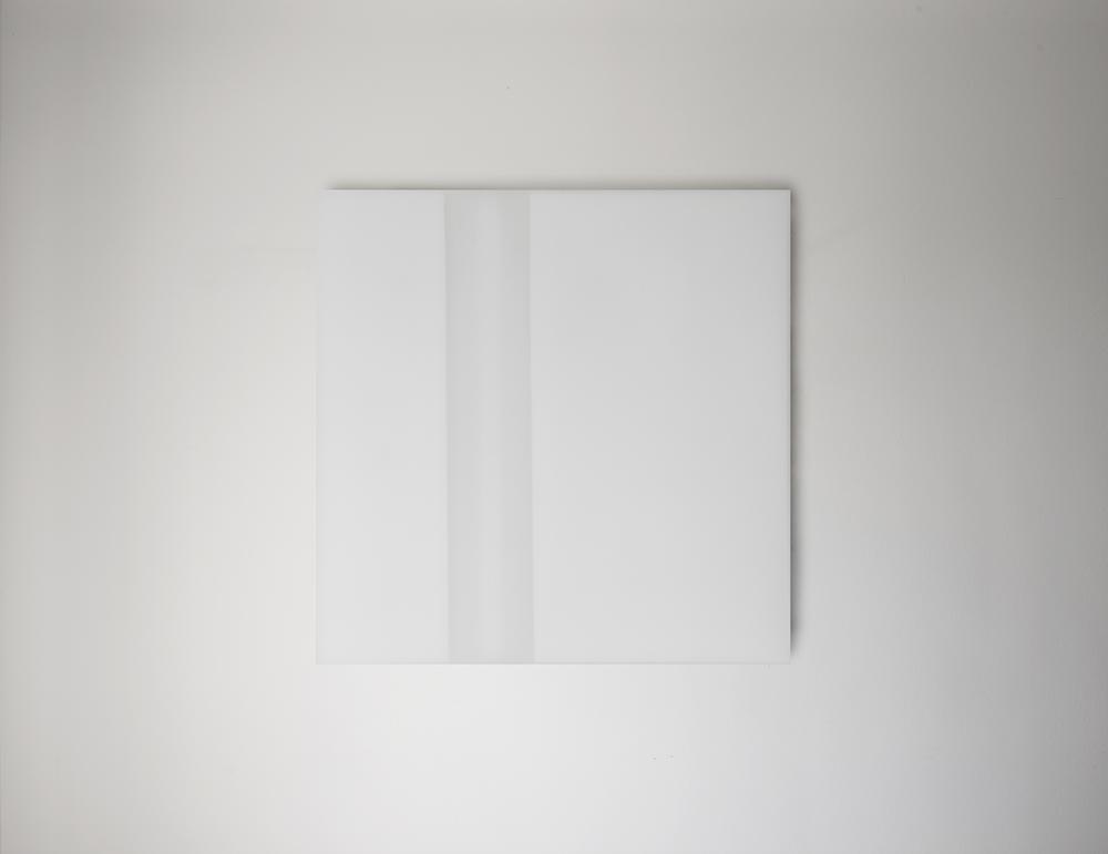 Steve Burtch, No. 12023, 2012, acrylic & graphite on cast acrylic panels, 11 x 11 inches