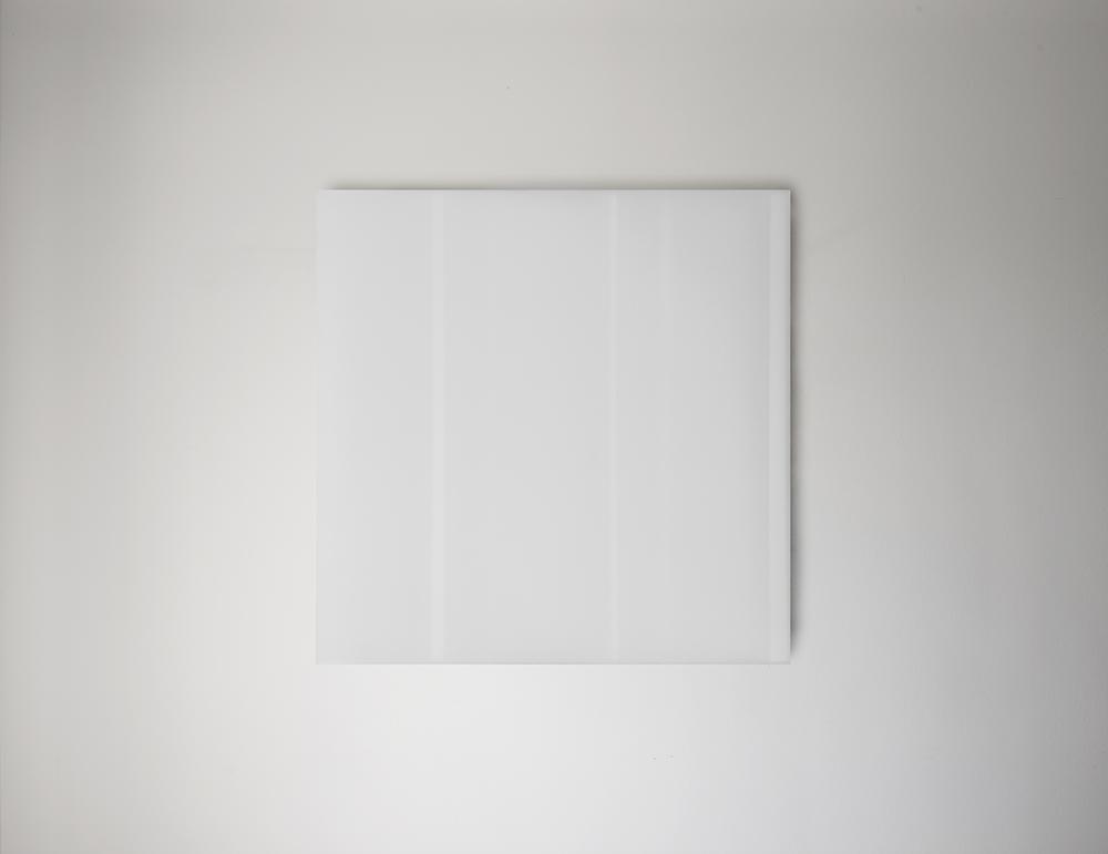 Steve Burtch, No. 12031, 2012, acrylic & graphite on cast acrylic panels, 22 x 22 inches