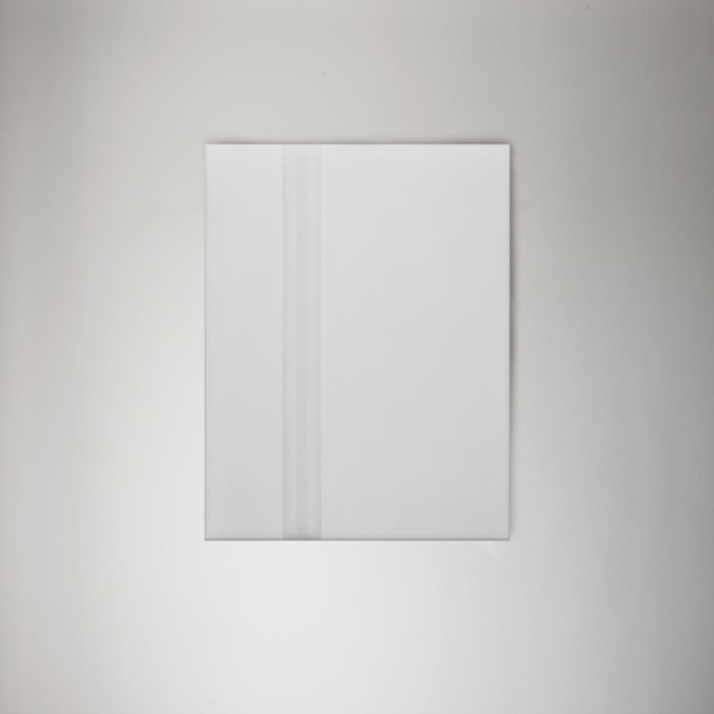 Steve Burtch, No. 12032, 2012, acrylic & graphite on cast acrylic panels, 22 x 22 inches
