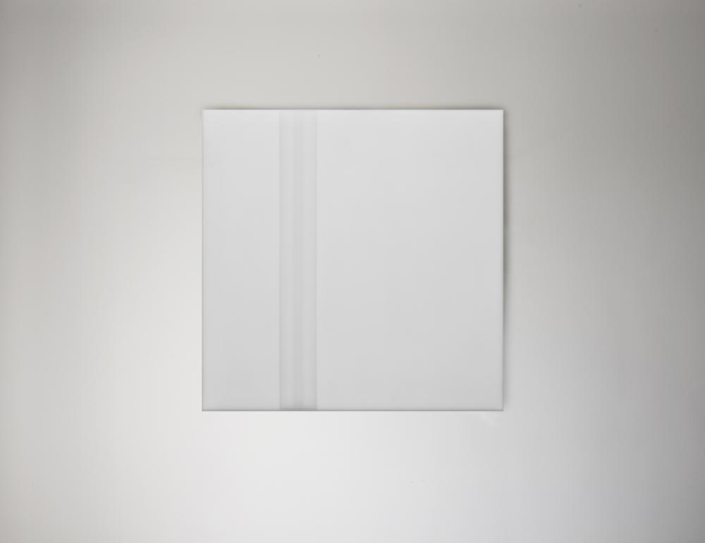 Steve Burtch, No. 12034, 2012, acrylic & graphite on cast acrylic panels, 72 x 48 inches