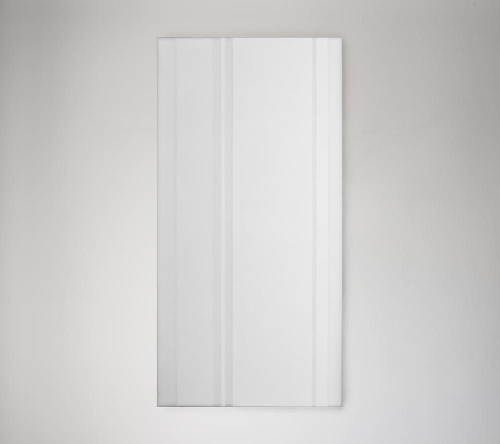 Steve Burtch, No. 12040, 2012, acrylic & graphite on cast acrylic panels, 33 x 22 inches