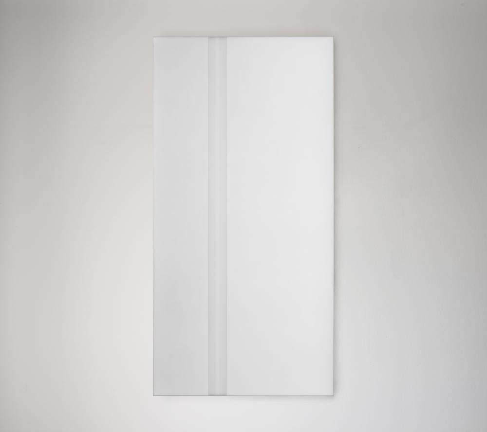 Steve Burtch, No. 12041, 2012, acrylic & graphite on cast acrylic panels, 33 x 22 inches