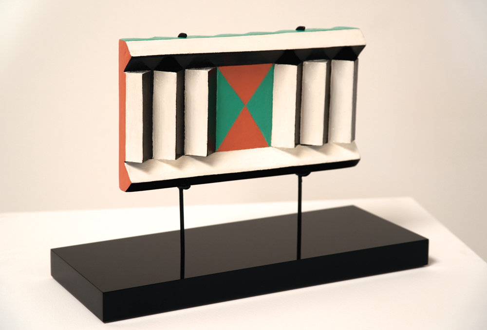 """Judy Chicago, Small Slatted Sculpture, Circa 1965, Acrylic on wood, 4.5 x 8 x 1.5 inches                                Normal    0                false    false    false       EN-US    JA    X-NONE                                                                                                                                                                                                                                                                                                                                                                                                                                                                                                                                                  /* Style Definitions */ table.MsoNormalTable {mso-style-name:""""Table Normal""""; mso-tstyle-rowband-size:0; mso-tstyle-colband-size:0; mso-style-noshow:yes; mso-style-priority:99; mso-style-parent:""""""""; mso-padding-alt:0in 5.4pt 0in 5.4pt; mso-para-margin-top:0in; mso-para-margin-right:0in; mso-para-margin-bottom:10.0pt; mso-para-margin-left:0in; mso-pagination:widow-orphan; font-size:12.0pt; font-family:Cambria; mso-ascii-font-family:Cambria; mso-ascii-theme-font:minor-latin; mso-hansi-font-family:Cambria; mso-hansi-theme-font:minor-latin; mso-fareast-language:JA;}"""