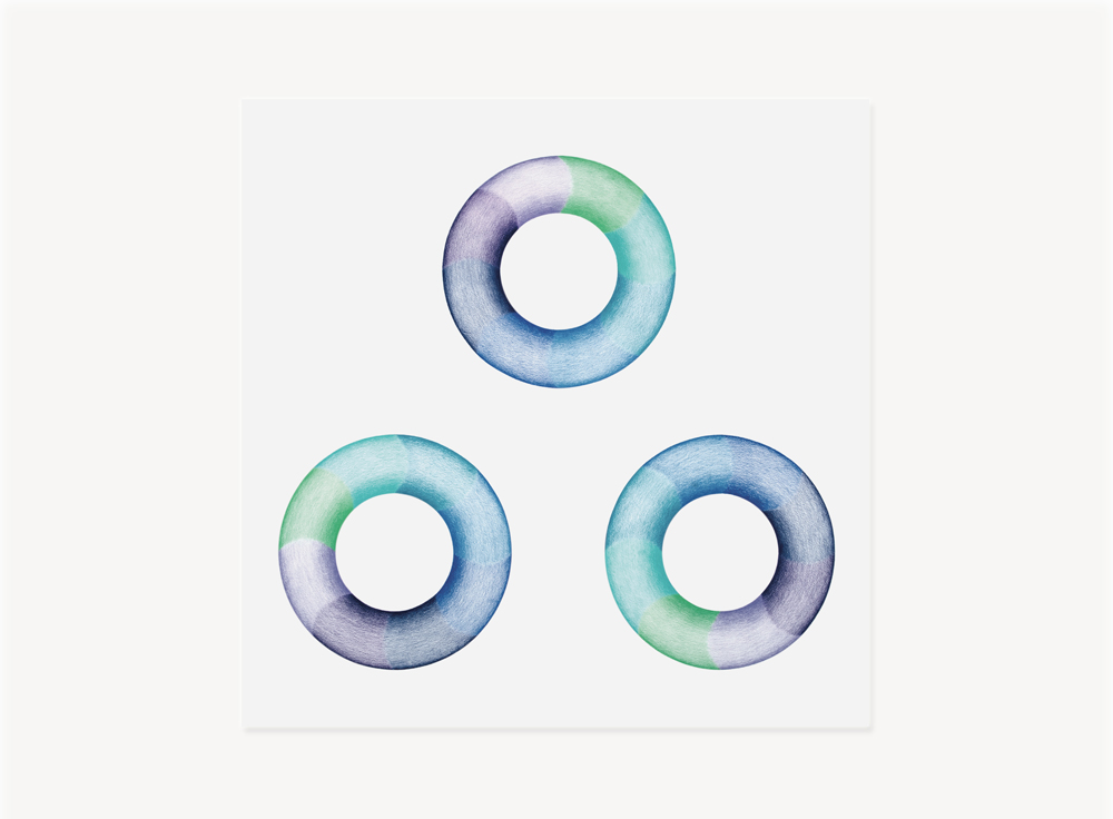 """Judy Chicago, Donut Drawing #3, 1968, Prismacolor on paper, 27.38 x 27.38 inches                                Normal    0                false    false    false       EN-US    JA    X-NONE                                                                                                                                                                                                                                                                                                                                                                                                                                                                                                                                                  /* Style Definitions */ table.MsoNormalTable {mso-style-name:""""Table Normal""""; mso-tstyle-rowband-size:0; mso-tstyle-colband-size:0; mso-style-noshow:yes; mso-style-priority:99; mso-style-parent:""""""""; mso-padding-alt:0in 5.4pt 0in 5.4pt; mso-para-margin-top:0in; mso-para-margin-right:0in; mso-para-margin-bottom:10.0pt; mso-para-margin-left:0in; mso-pagination:widow-orphan; font-size:12.0pt; font-family:Cambria; mso-ascii-font-family:Cambria; mso-ascii-theme-font:minor-latin; mso-hansi-font-family:Cambria; mso-hansi-theme-font:minor-latin; mso-fareast-language:JA;}"""